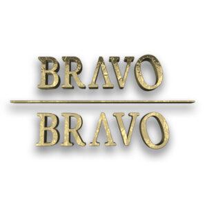 3d Logo Design Beazie the Artist Bravo Bravo