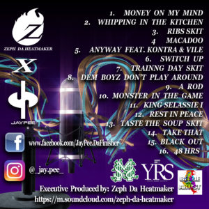 beazie the artist mixtape track art jaypee zepth da heatmaker