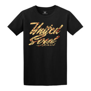 T-Shirt Design Text Art Beazie the Artist United Soul Apparel
