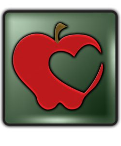 Beazie the Heart and Health Apple