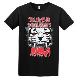 T-Shirt Design Text Art Beazie the Artist Tigear TSMMA Tiger Schulmanns